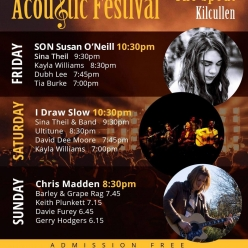 Downda Road Productions - The Hardly Strictly Acoustic Festival 2018 Line-up announced!