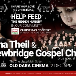 Downda Road Productions - Dec 2nd: Sina Theil & Newbridge Gospel Choir Concert in Aid of Main Street Foodbank